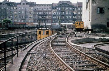 U-Bahn, Seestraße, Schienen, Wedding