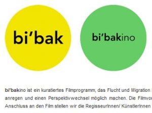 Screenshot von der Webseite des bi'bak-Projektraums.
