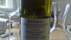 Der Wedding-Wein von der Nahe
