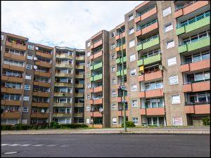Berlin-Gesundbrunnen, wohnen, Wohnhäuser, Plattenbau