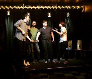 Comedy, Bühne, Kugelbahn