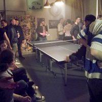 WG-Bar, bar, Lokal, Keipe, Tischtennis
