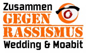 Zusammen gegen Rassismus in Wedding & Moabit Logo