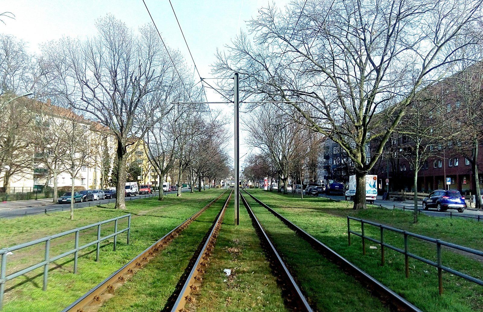 Straßenbahn Tram Osloer Str