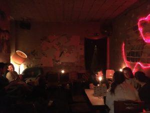 das Ambiente in der F-Bar Grüntaler Straße - Foto: N. Roth