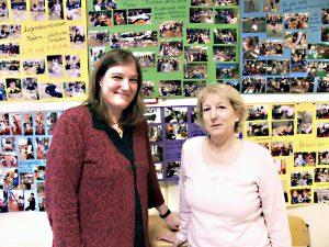 Stephanie Aschenbrandt (links) und Gabriele Wangerin aus der Gustav-Falke-Grundschule. Foto: Esser