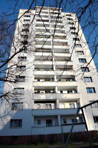 Hochhaus in der Ernst-Reuter-Siedlung. Foto: Theresa Rüster
