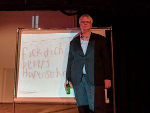 Heiko Wernig bei der Präsentation seines neuen Buches. Foto: Sallmann