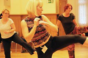 Tanzworkshop im Stadtteilzentrum. Foto: PGS
