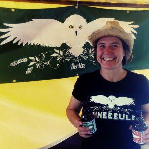 Brauerei-Gründerin Ulrike Genz von Schneeeule