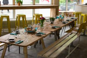Tisch im Mirage. Foto: Promo