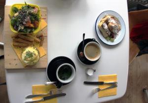Zwei Mal Frühstück im Mirage. Foto: Hensel