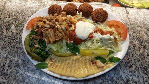 Falafel Schawarma Hummus