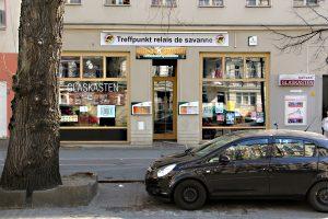 Gaschlossen: Das Ralais de Savanne in der Prinzenallee. Foto: Hensel