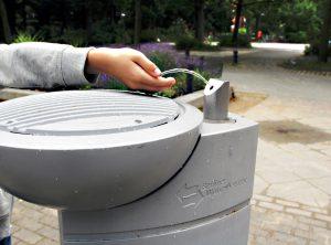 Der Trinkwasserbrunnen am Vinetaplatz. Foto: Hensel