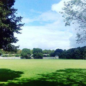weiter Blick über den Park