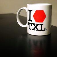 I love Tegel Tasse