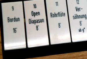 Teil der neuen Orgel in der Kapelle der Versöhnung. Foto: Michael Becker