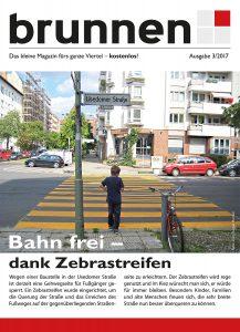 Das Cover des aktuellen Kiezmagazins im Brunnenviertel.