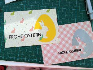 Schätze aus dem 1-Euro-Shop. So wird Ostern noch schöner. Foto: Sigrun Wetzel