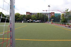 Der Sportplatz in der Stralsunder Straße ist der Heimplatz von Viktoria Mitte. Foto: D. Hensel