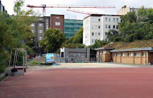 Baustelle! Hier entsteht das neue Haus. Foto: D. Hensel
