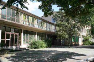 Ansicht der Anna Lindh Grundschule von außen
