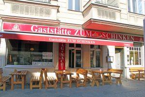Gaststätte Zum Schinken in der Luxemburger Straße 5. Foto: Hensel