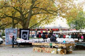 Markt auf dem Nettelbeckplatz. Foto: Annika Keilen