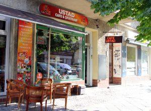 Café und Späte Ustad. Foto: Hensel