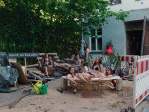 """Willkommen zur """"The Last Party"""". Eine Pooldemo wie hier wird es wohl dieses Mal nicht geben ... Foto: Stefanie Rumpler"""