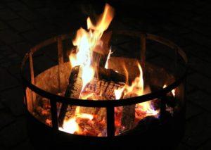 Feuerschale. Foto: Hensel