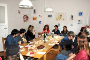 """Beim Salon im März wurde über """"Die verschollene Generation"""" diskutiert. Foto: Susanne Haun"""