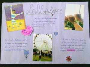 Lanas Berlin-Story auf einem Plakat. Foto: Oertel