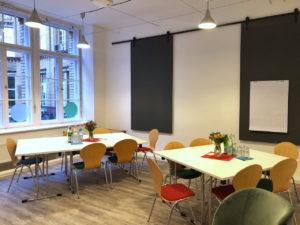 Meeting-Räume stehen auch zur Verfügung