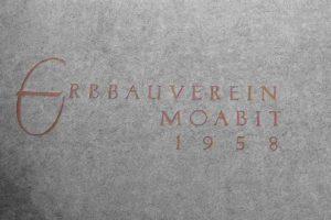 Erbauverebein Moabit Genossenschaft