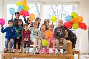 Sagen zum 20. Geburtstag Danke: Kinder im Ronald McDonald Haus Berlin-Wedding. Foto: Pressefoto