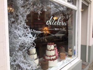 Das Schaufenster der Dilekerei in der Eulerstraße. Foto: A. Oertel