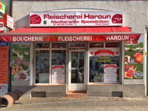 Außenansicht der Fleischerei Haroun - Foto: S. Orsenne