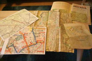Historische Stadtpläne und Karten