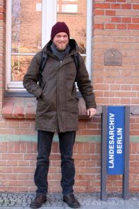 Der Historiker Niklaas Goersch kommt zum Geschichtscafé. Foto: Anno erzählt