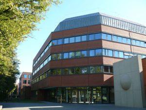 Robert Koch Institut im Wedding, Eingang Seestraße 10. Foto: RKI