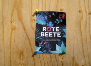 Ein Flyer für den Garten, der Rote Beete heißt. Foto: Hensel