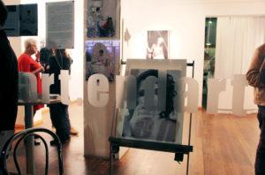Blick in art.endart Galerie in der Drontheimer Straße. Foto: Hensel