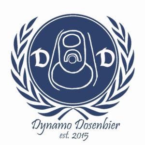 Das Vereinslogo von Dynamo Dosenbier.