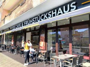 Das BAK Frühstückshaus in der Prinzenallee. Foto: Stöckel