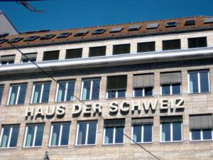 Das Haus der Schweiz Unter den Linden. Foto: Hensel