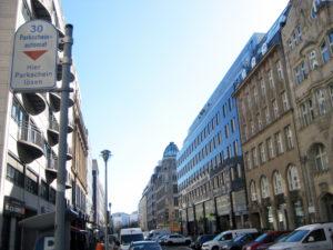 In der Kronenstraße. Foto: Hensel