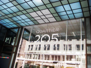 Quartier 205 in der Friedrichstraße. Foto: Hensel
