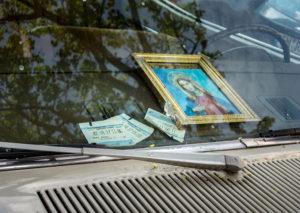 Ein Parkschein, gezogen am Bahnhof Gesundbrunnen. Halleluja! Foto: Sallmann